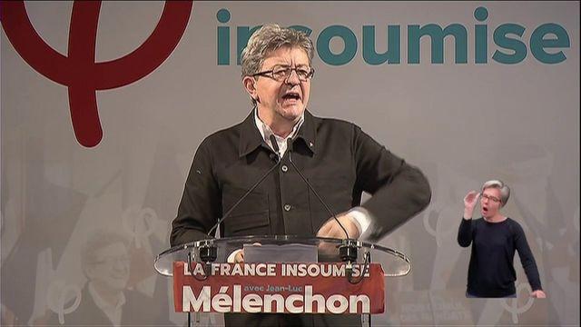 """Mélenchon annonce que la France insoumise dispose d'""""un groupe à l'Assemblée"""""""