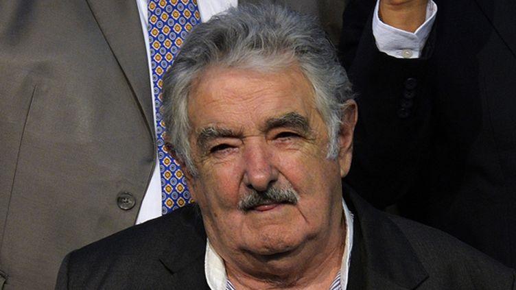 Le président uruguayen José Mujica (CRIS BOURONCLE / AFP)