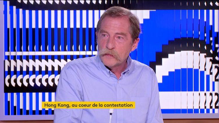 Le journaliste Dorian Malovic (FRANCEINFO)