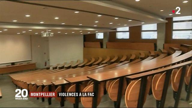 Montpellier : la faculté de droit théâtre de violences