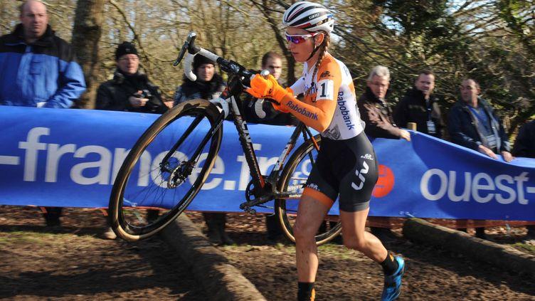 (Pauline Ferrand-Prévot est devenue championne du monde de cyclo-cross. © MaxPPP)