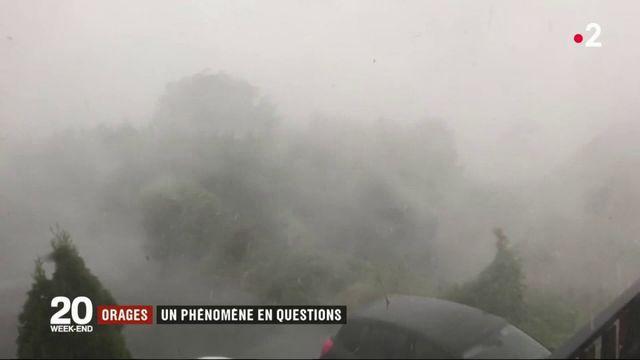 Orages : des questions pour comprendre ce phénomène météorologiques