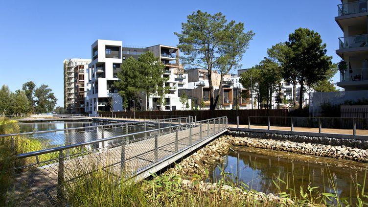 Un exemple d'éco-quartier dans la ville de Bordeaux. (PHILIPPE ROY / PHILIPPE ROY)