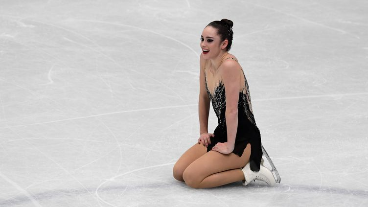La Canadienne Kaetlyn Osmond (MIGUEL MEDINA / AFP)