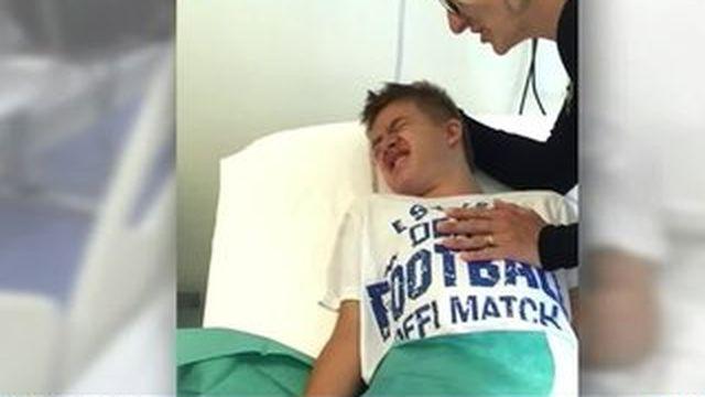 Un adolescent gravement brûlé lors d'une IRM