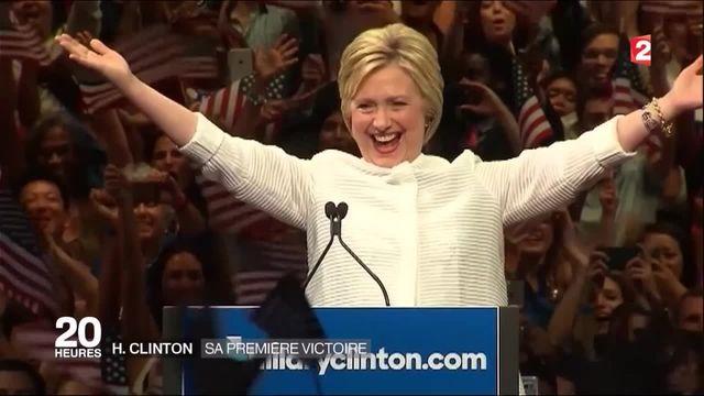 États-Unis : une victoire historique pour Hillary Clinton