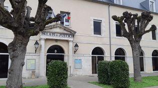 Le palais de justice de Montargis (Loiret), le 14 janvier 2020. (ANNE OGER / RADIO FRANCE)