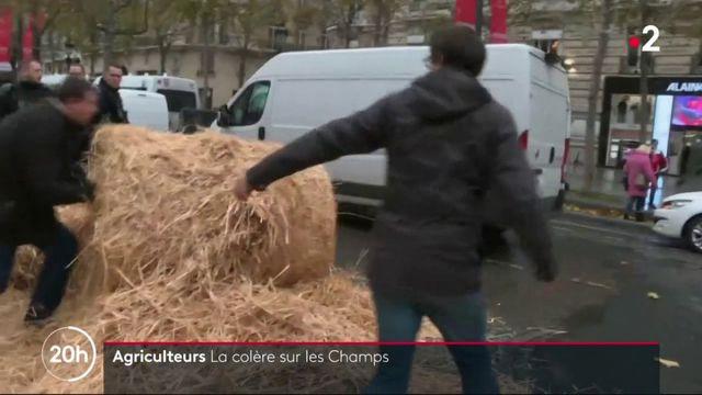 Agriculteurs : la colère sur les Champs-Élysées