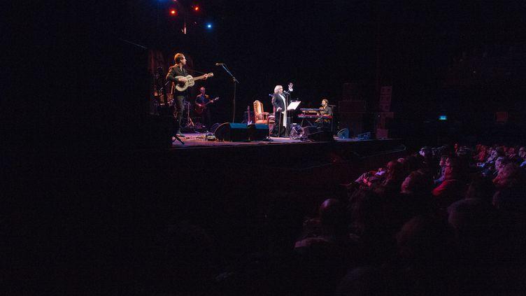 Un concert à l'Olympia, ici Marianne Faithfull en novembre 2014 (DOMINIQUE CHARRIAU / WIREIMAGE)
