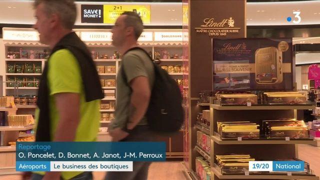 Aéroports : le lucratif business des boutiques