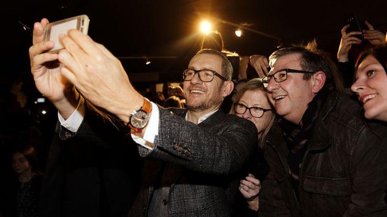 """Dany Boon à la première de son film""""La Ch'tite Famille"""" au cinéma Kinepolis de Lille, le 5 janvier dernier. (SYLVAIN LEFEVRE / GETTY IMAGES EUROPE)"""