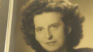 Une photo de Marguerite Vallade-Gibert, qui a légué près d'un million d'euros à la commune de Craponne-sur-Arzon (Haute-Loire). (FRANCE 2)