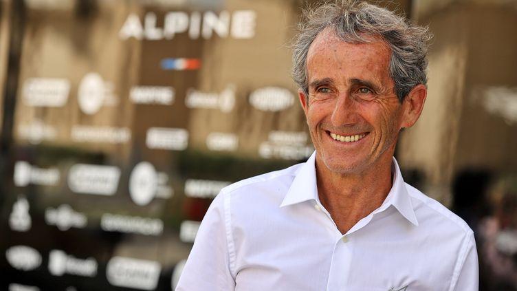 Alain Prost compte notamment sur une performance du pilote français d'Alpine, Esteban Ocon. Le quadruple champion du monde est conseiller spécial du constructeur. (XPB / JAMES MOY PHOTOGRAPHY LTD. / RENAULT F1 TEAM)