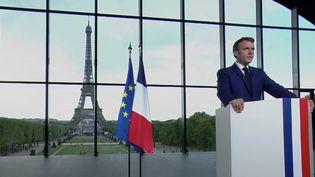 """""""France 2030"""" : les ambitions du plan d'investissement d'Emmanuel Macron (FRANCE 2)"""