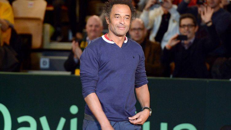 Yannick Noah, l'ancien capitaine de l'équipe de France de Coupe Davis