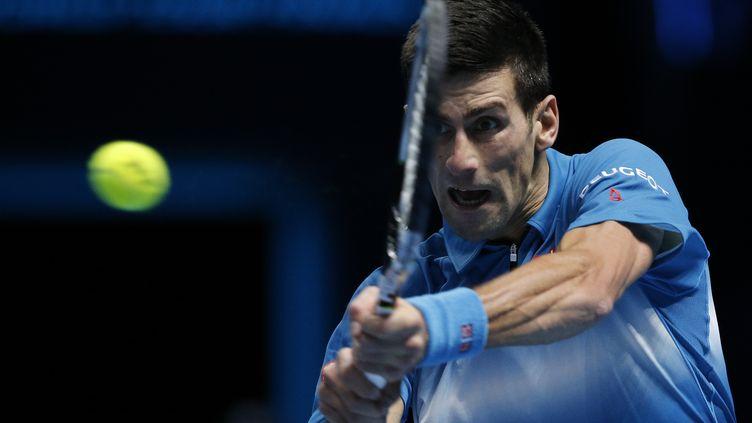 Novak Djokovic  (ADRIAN DENNIS / AFP)