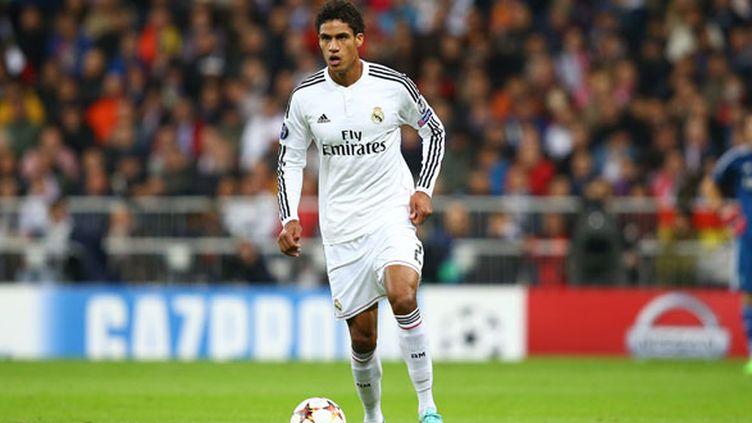 Le défenseur français du Real Madrid, Raphaël Varane