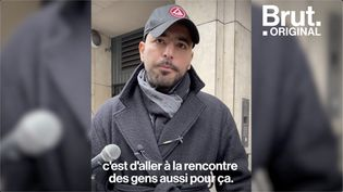 VIDEO. Redouanne Harjane fait du stand-up dans la rue (BRUT)