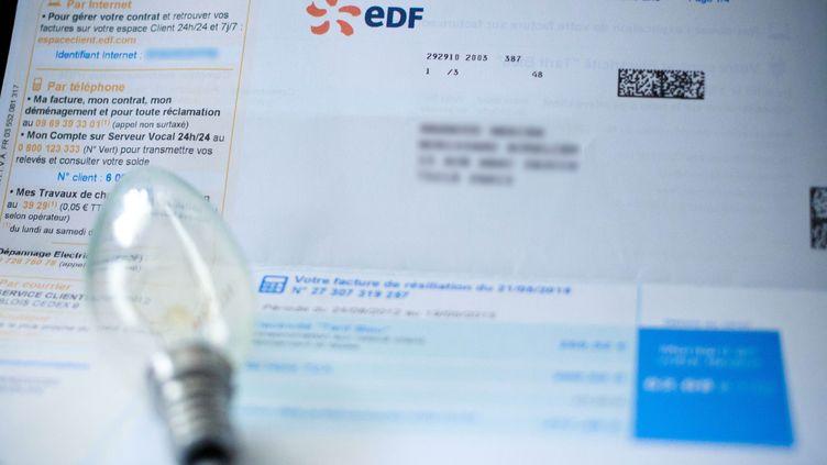 Un million de clients EDF ont été prélevés deux fois dans la nuit du lundi 23 au mardi 24 janvier 2017, révèle Europe 1. (MAXPPP)
