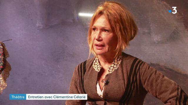 Clémentine Célarié, seule en scène à Antibes