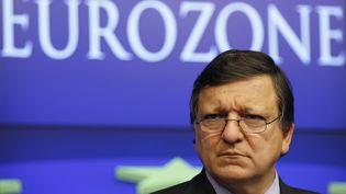 Le président de la Commission européenne, Jose Manuel Barroso, le 23 octobre 2011 à Bruxelles. (Yves Herman/REUTERS)