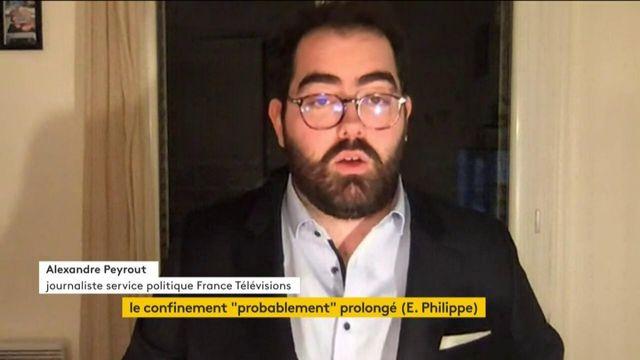 """Un confinement """"probablement prolongé"""", selon Edouard Philippe"""