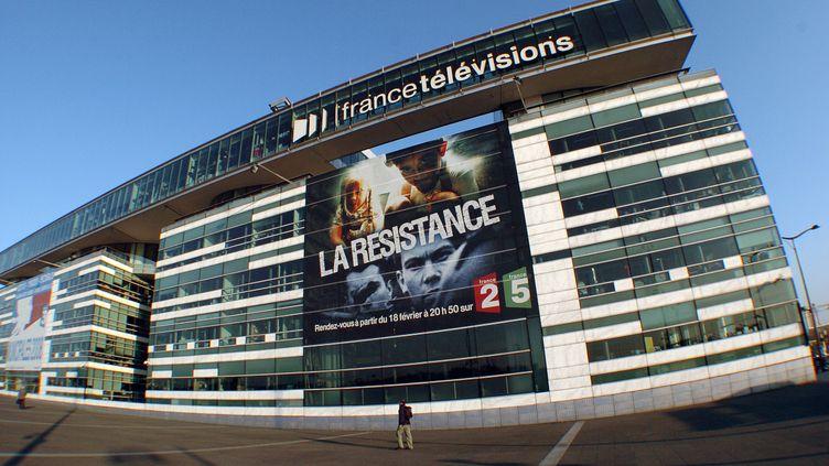 Le siège de France Télévisions, à Paris. (JEAN AYISSI / AFP)