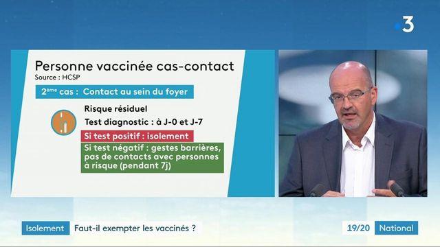 Isolement : les personnes vaccinées doivent-elles en être exemptées si elles sont cas-contacts ?