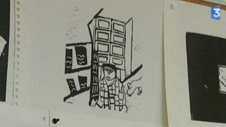 """Thierry Van Hasselt anime un atelier BD pour """"Babelgique""""  (Culturebox)"""