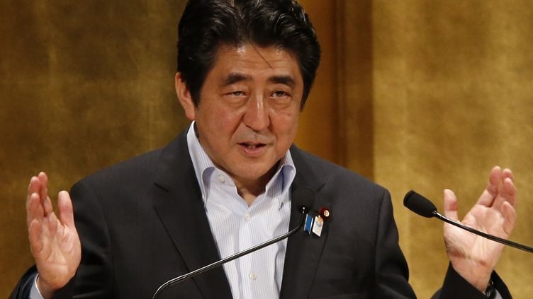 Le Premier ministre japonais Shinzo Abe le 5 juin 2013 à Tokyo (Japon). (TORU HANAI / REUTERS)