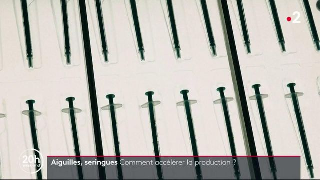 Covid-19 : comment éviter la pénurie d'aiguilles et de seringues ?