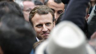 Emmanuel Macron à Toulouse, le 11 septembre 2017. (PASCAL PAVANI / AFP)
