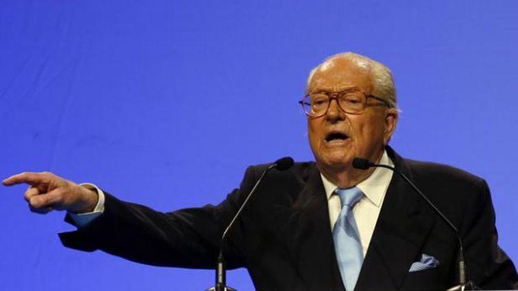 (Jean-Marie Le Pen a plusieurs fois été condamné pour incitation à la haine raciale ou contestation de crimes contre l'humanité © REUTERS/Jean-Paul Pelissier)