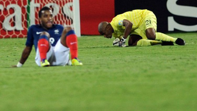 Jonathan Ligali et Yannis Tafer très déçus après la défaite contre le Portugal
