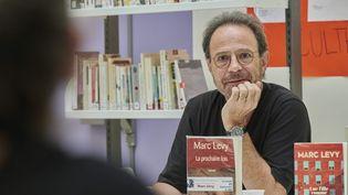 L'écrivain Marc Lévy, le 7 septembre 2018, à Nancy (Meurthe-et-Moselle). (SAUCOURT PATRICE / MAXPPP)