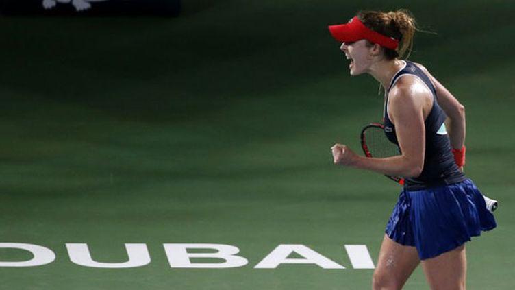 Alizée Cornet (Dubaï 2015) (KARIM SAHIB / AFP)