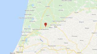 L'homme avait mis le feu à la maison de son ex-compagne le 15 août dernier à Rivière-Saas-et-Gourby (Landes). (GOOGLE MAPS)