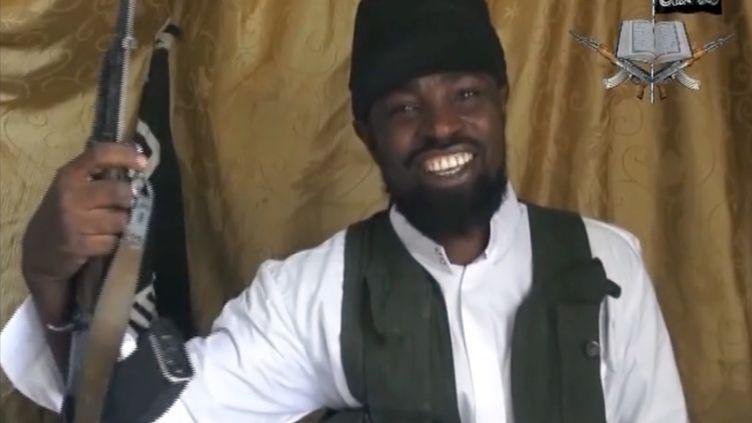 Capture d'écran d'une vidéo du chef de Boko Haram,Aboubakar Shekau, en mars 2014. ( BOKO HARAM / AFP)