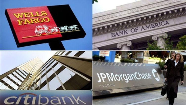 Principales banques américaines (AFP)