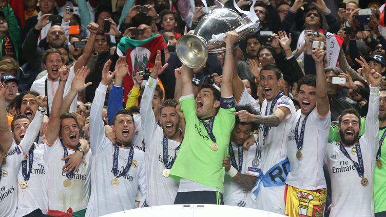 La dixième Ligue des champions, remportée par le Real Madrid, le 24 mai 2014. (JUAN CARLOS ROJAS / NOTIMEX / AFP)