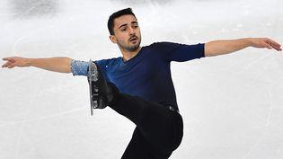 Kevin Aymoz sera le représentant tricolore masculin à Stockholm. (MARCO BERTORELLO / AFP)