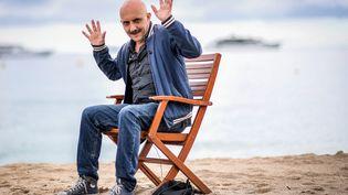 Le réalisateur Gaspar Noé, le 13 mai 2018 à Cannes. (LOIC VENANCE / AFP)