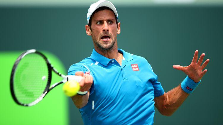 Novak Djokovic a souffert face à Goffin (CLIVE BRUNSKILL / GETTY IMAGES NORTH AMERICA)