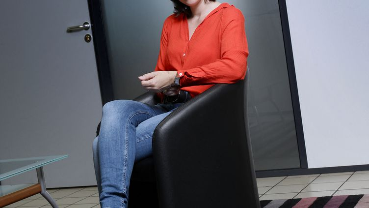 Nathalie Péchalat, présidente de la Fédération Française des Sports de Glace. (BRUNO COUTIER / BRUNO COUTIER)