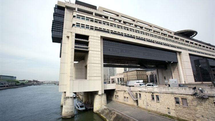 Le ministère de l'Economie et des Finances, dans le quartier de Bercy à Paris. (AFP - LOIC VENANCE)