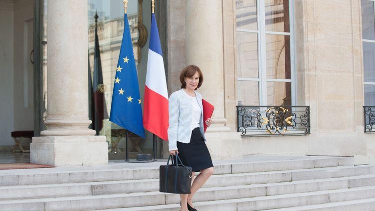 La ministre des Familles, de l'Enfance et des Droits des Femmes, Laurence Rossignol, sort du Conseil des ministres à l'Elysée, le 22 septembre 2016. (MARTINI VIRGILIO/SIPA)