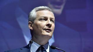 Le ministre de l'Economie, Bruno Le Maire, le 3 mai à Paris à l'occasion des Assises de l'épargne et de la fiscalité. (AVENIR PICTURES / CROWDSPARK / AFP)