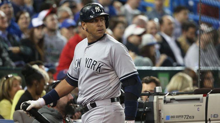 La star des New York Yankees, Alex Rodriguez