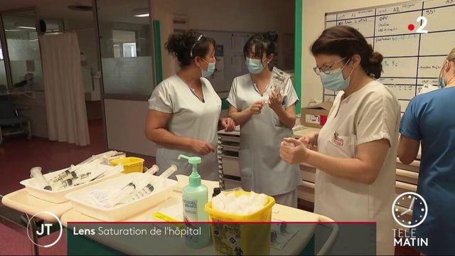 Covid-19: dans le Pas-de-Calais, l'hôpital de Lens est saturé