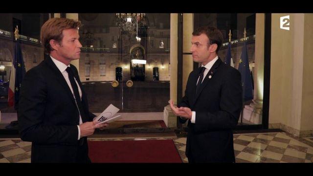 """Macron lancera """"une grande réflexion"""" sur l'audiovisuel public """"au début de l'année prochaine"""""""